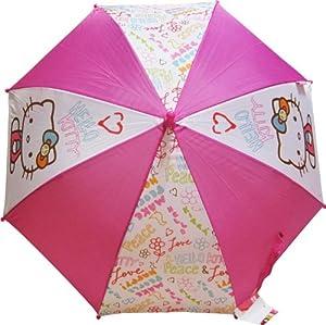 "Wonders Shop USA Hello Kitty Kids Umbrella Sun Rain 24"" by Sanrio by Sanrio"