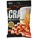 Black Pepper & Bacon Flavored Pretzel Snack - Cratz - By Glico From Japan 42g by Glico