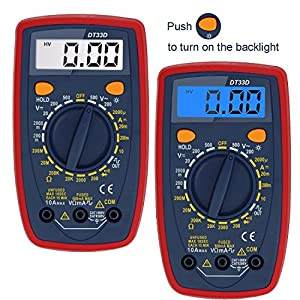AstroAI Digital Multimeter with Ohm Volt Amp and Diode Test