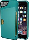 """Silk Vault Slim Wallet Coque pour iPhone 6 4,7"""" Vert"""