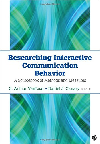 Researching Interactive Communication Behavior: A Sourcebook of Methods and Measures