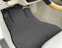 Pontiac Safari Dark Grey Lloyd Mats Custom Fit Luxe Floor Mats Front and Rear Set - (1983 83 1984 84 1985 85 1986 86 1987 87 1988 88 1989 89 )