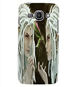 ColourCraft Angel Design Back Case Cover for SAMSUNG GALAXY ACE 3 S7272 DUOS