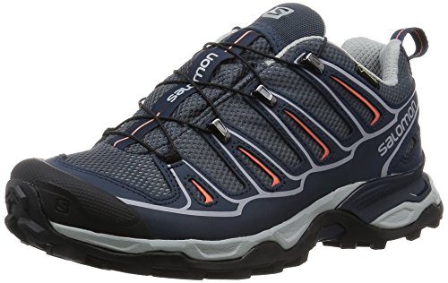 Salomon Women's X Ultra 2 GTX W Hiking Shoe, Gray, 9.5 B US