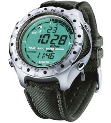Suunto Yachtsman Wrist Top Computer Watch with Barometer and Compass
