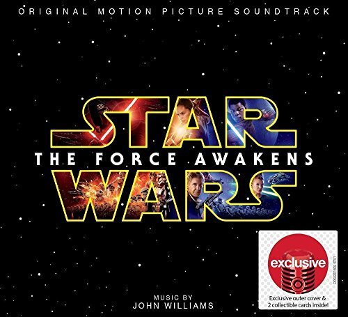 Original album cover of Star Wars The Force Awakens - Exclusive - (2 Collectible Cards Plus Exclusive Cover) by John Williams