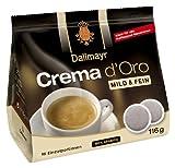 Dallmayr Crema d'oro mild und fein Pads 116g - 5er Karton ( 5 x 16 Pads)