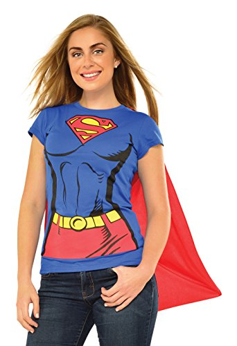 SUPERGIRL ~ Supergirl Ladies -Adult T-Shirt Set - S to XL