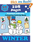 Winter: Coloring and Activity Book wi...