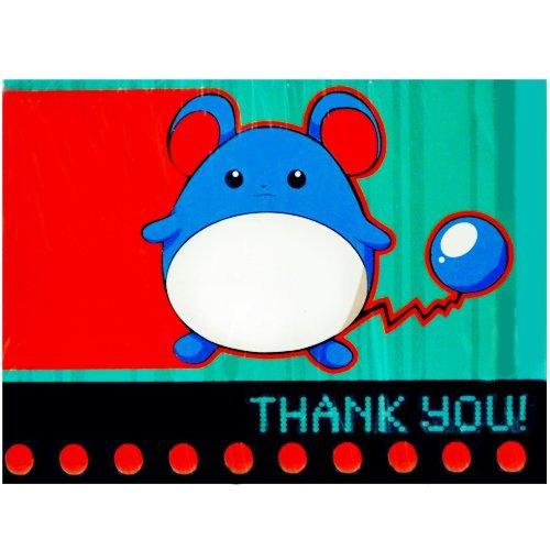 Pokemon Vintage Thank You Notes w/ Envelopes (8ct) - 1