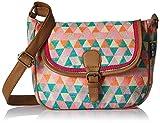 #9: Kanvas Katha Women's Sling Bag (Multi color) (KKSLJQ014)