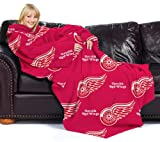 Detroit Red Wings NHL (Adult) Fleece Comfy Throw