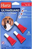 Hartz UltraGuard Flea & Tick Drops For Dogs 16-30 Lbs