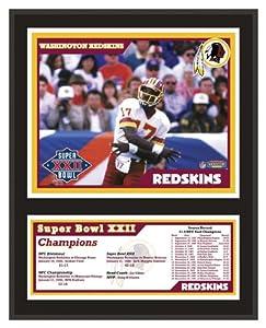 Washington Redskins Sublimated 12x15 Plaque | Details: Super Bowl XXII - Mounted... by Sports Memorabilia