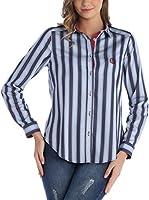 SIR RAYMOND TAILOR Camisa Mujer (Azul Marino / Azul)