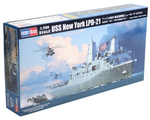 Hobby Boss USS New York LPD-21 Assembly Kit (New York Model compare prices)