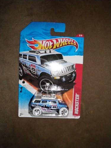 2011 HOT WHEELS THRILL RACERS ICE 194/244 BLUE ROCKSTER 2/6 - 1