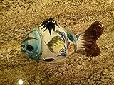 Mid Century Modern Mexican Stoneware Pottery Ceramic Tonala Fish Figurine Figure Decor Art Cat 375