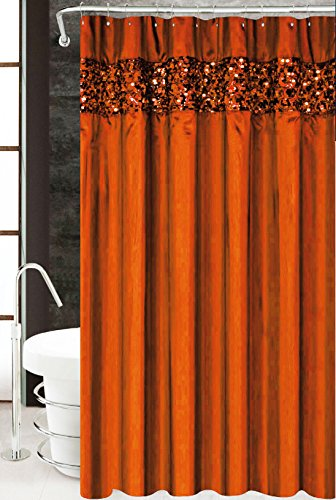 Merveilleux Vegas Luxury Fabric Shower Curtain, Bathroom Accessories, 70