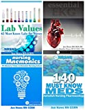 img - for Nursing School Study Pack (Drug Reference, Labs, Mnemonics, EKG) 4 best selling books for nursing students book / textbook / text book
