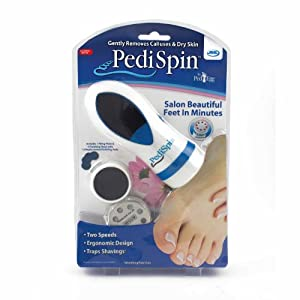 Amazon com pedi spin electronic foot callus removal kit as seen on tv