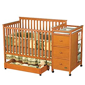 Baby Crib And Bed Milan Crib Changer Combo