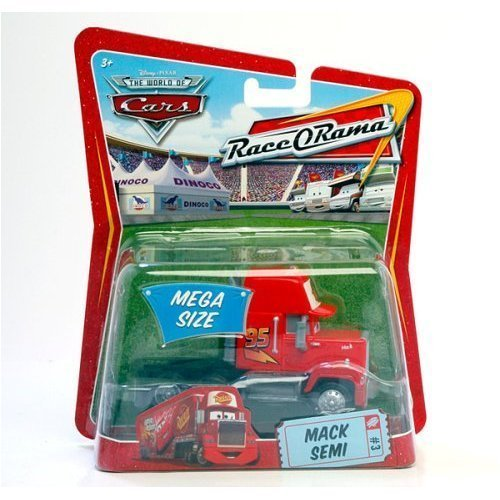 Cars Mega Size Mack Semi #3 Race-O-Rama Packaging - 1
