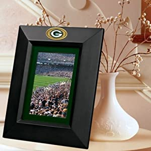The Memory Company Green Bay Packers Picture Frame- Black by The Memory Company