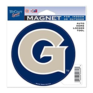 Buy Georgetown Hoyas Official NCAA 4.5x6 Car Magnet by WinCraft