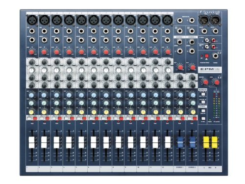Soundcraft EPM12 12-Channel Audio Mixer (Jbl Dj Mixer compare prices)