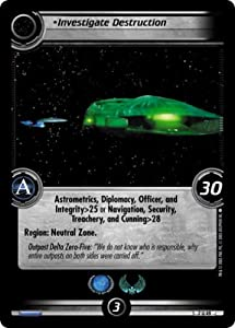 Star Trek Ccg 2e Snw Worlds Investigate Destruction 7u49