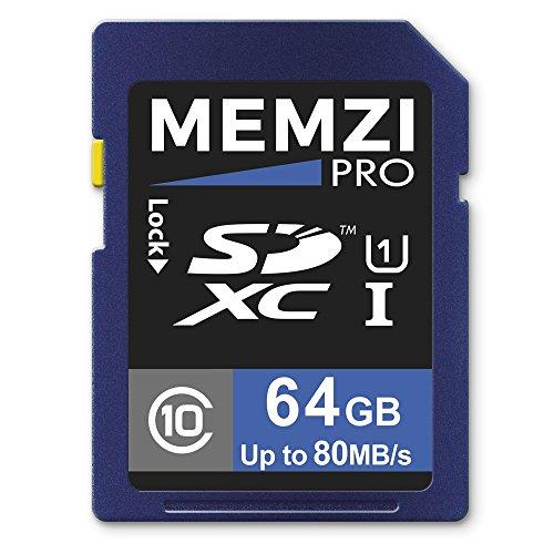memzi-pro-64-gb-classe-10-80-mb-s-scheda-di-memoria-sdxc-per-fotocamere-digitali-canon-powershot-s-o