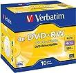 Verbatim DVD+RW 4X 4,7GB Scratch Resistant Surface
