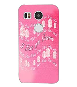 PrintDhaba Quote D-5524 Back Case Cover for LG NEXUS 5X (Multi-Coloured)