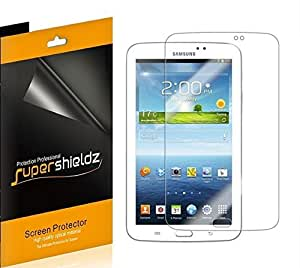 [3-Pack] SUPERSHIELDZ- Anti-Glare & Anti-Fingerprint (Matte) Screen Protector For Samsung Galaxy Tab 3 7.0 7 inch + Lifetime Replacements Warranty [3-PACK] - Retail Packaging
