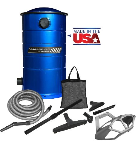 Images for VacuMaid GV50B Wall Mounted Garage Utility Vacuum with 50 foot Hose, Tools and Blow Function