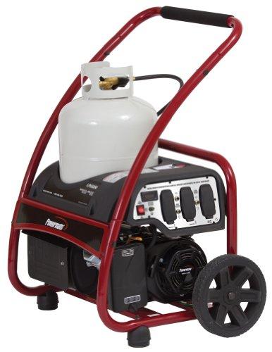 Powermate Pm0133250 Propane Generator With Manual Start, 3250-Watt