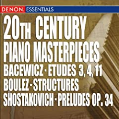 Preludes for Piano, Op. 34: No. 8: Allegretto