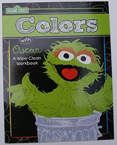 Sesame Street Colors with Oscar Wipe-Clean Notebook
