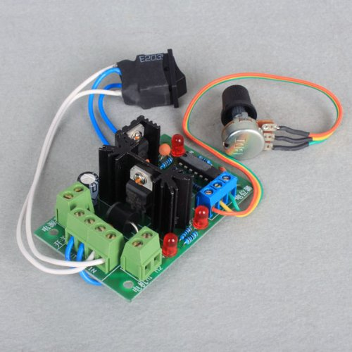 HOSSEN® 12-24V 5A DC Motor Speed Control PWM Controller