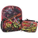 TMNT Teenage Mutant Ninja Turtle Backpack Tote and Lunchbox Lunch Bag Tote Shell