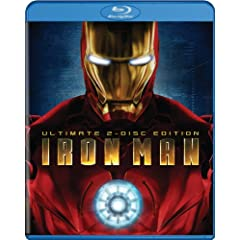 Iron   Man (Ultimate Two-Disc Edition + BD Live) [Blu-ray]