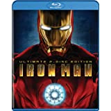 Iron Man (Two-Disc Ultimate Edition + BD Live) [Blu-ray] ~ Robert Downey Jr.