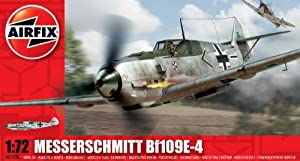 Airfix A01008 Messerschmitt Bf109E 1:72 Scale Series 1 Plastic Model Kit