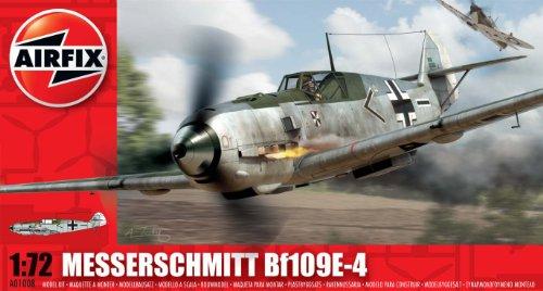 Airfix 1:72 Messerschmitt Bf109E-4 (A01008) - 1