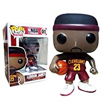 Funko Pop Sports NBA LeBron James Cleveland Cavaliers Vinyl Figure