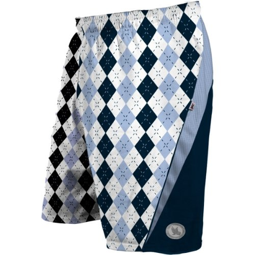 ... Argyle Navy Blue/Carolina Blue Performance Lacrosse Shorts For Sale
