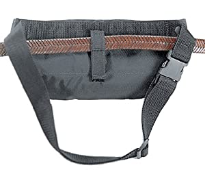 Uncle Mike's Off-Duty and Concealment Nylon Fanny Pack Gunrunner Holster (Medium, Black)