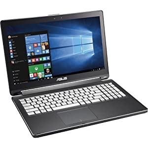 2015 Newest Asus 2-in-1 15.6″ Touch-Screen Laptop – Intel Core i7 – 8GB Memory – 1TB Hard Drive – NVIDIA GeForce 940M graphics- 1920 x 1080 (Full HD)-