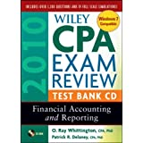 Wiley CPA Exam Review 2010 Test Bank CD: Financial Accounting and Reporting ~ Patrick R. Delaney